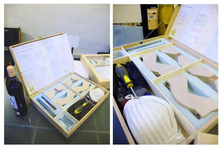 componenti del kit
