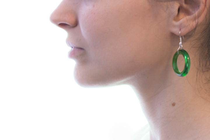 orecchini taglio veder