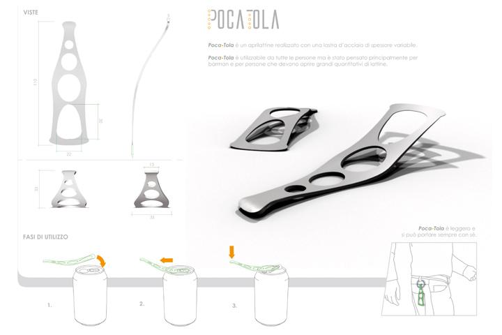 specifiche tecniche e modalità d'uso di Poca-Tola