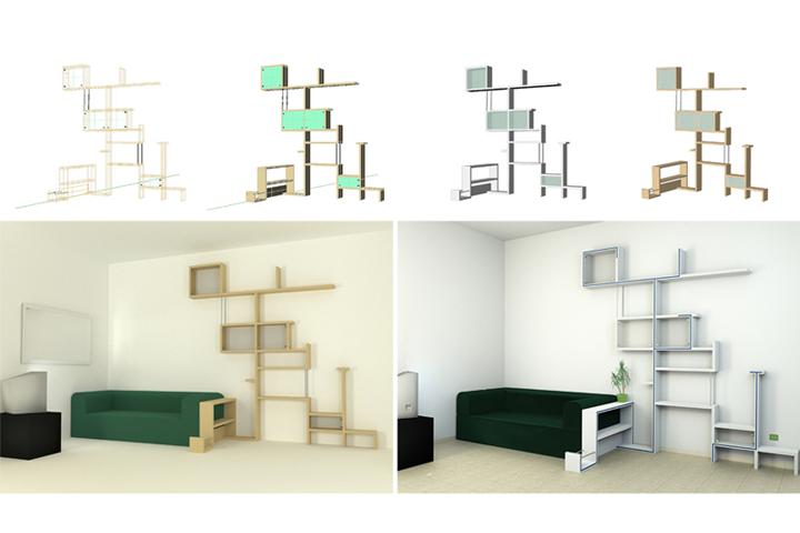 fasi di progettazione e renderizzazione