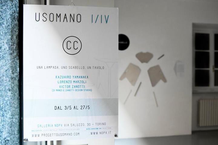 particolare della locandina del progetto USOMANO I/IV