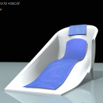 progetto Vasca-longa con cuscino e materassino refrigerante