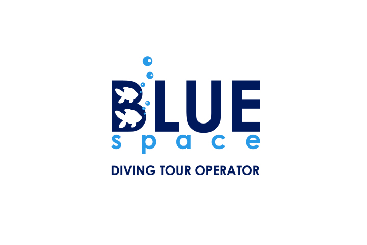 logo Blue Space - diving tour operator