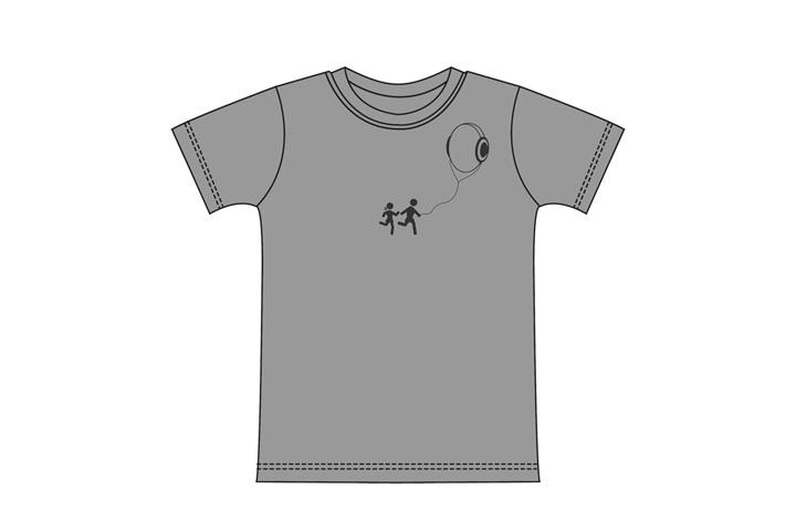 posizionamento della grafica su t-shirt