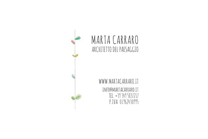 Marta Carraro architetto del paesaggio