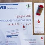 invito, segnalibro, portachiavi e locandina per Avis Castellamonte