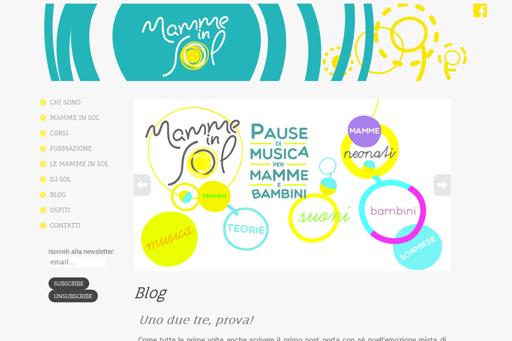 Home page Mamme in Sol