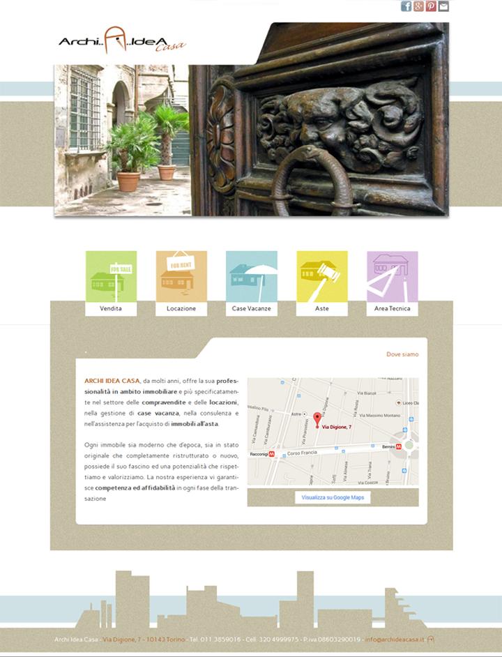 home page Archi Idea Casa