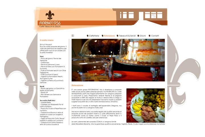 sezione interna sito del bar-tabaccheria Fiorino1956