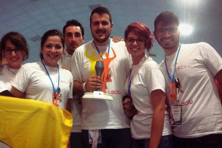 Premiazione Primo posto Coppa Nazionale Meeting CRI 2015